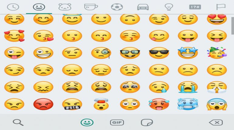 New Super Cool Whatsapp Emojis Roll Out in India in the BETA Version