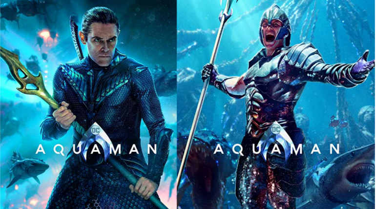 New Aquaman Character Posters Looks Crazy and Exciting the Pre-release Buzz