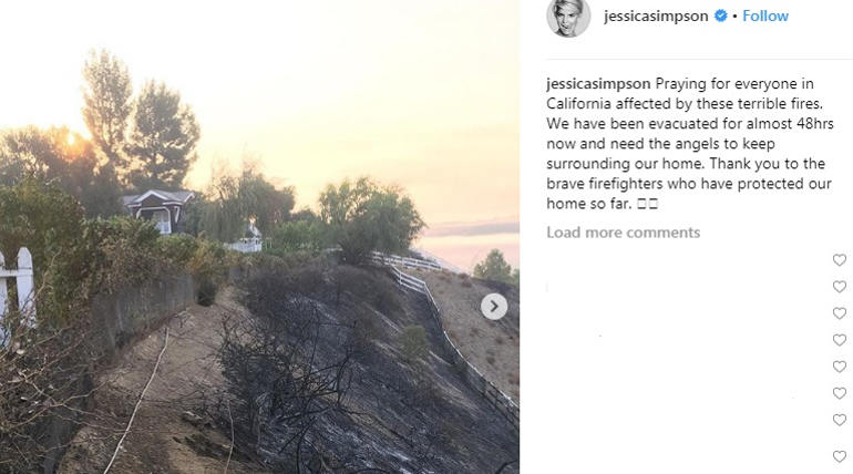 California Fire - Costliest Destruction in Californian History includes many Celebrities Residence