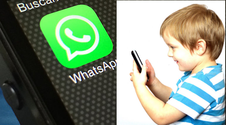 You have to be 16 or older to access WhatsApp in Europe