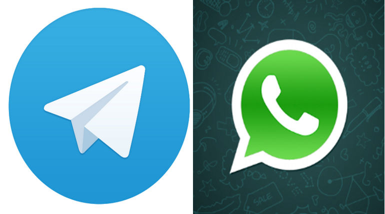 France To Develop Messaging App Counter To WhatsApp And Telegram Imagecredit: Twitter @telegram @WhatsApp