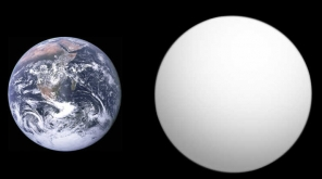 Researchers Created The Inner Core Of An Exoplanet In Lab To Study Its Properties. Image representing Earth and Kepler 10B