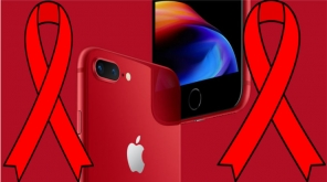 Support Product RED To Eliminate HIV By Buying Apple iPhone 8 And 8 Plus In RED Edition Imagecredit: Twitter@RED