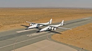 Soon Satellites Will Be Dropped In Space With A Taxi. Image credit: Stratolaunch Syytem Corp
