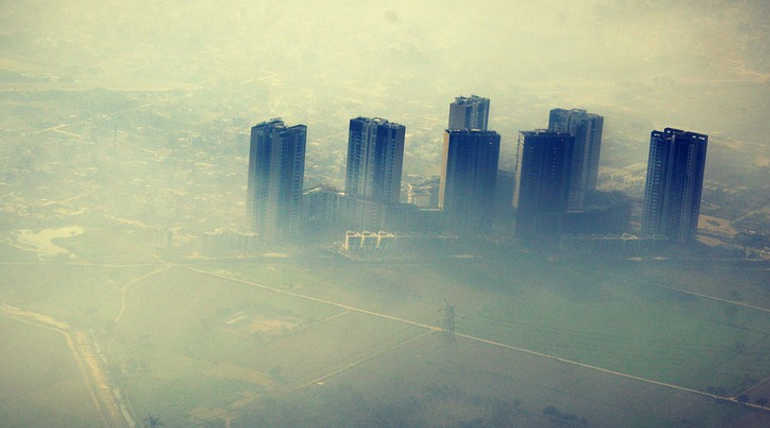 These Are The Worst Air Polluted Cities Of India. Representation Image Of Polluted delhi