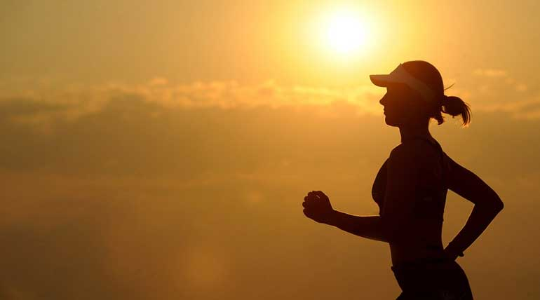 Regular Exercise Will Slow Down The Aging Process. Image credit Max Pixel