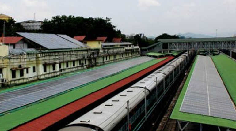 India Got Its first Solar Powered Railway Station