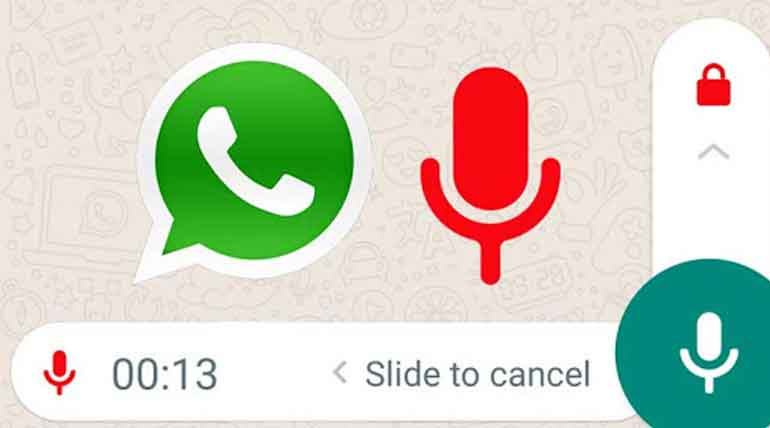WhatsApp Voice Recording Made Easy In Its New Update
