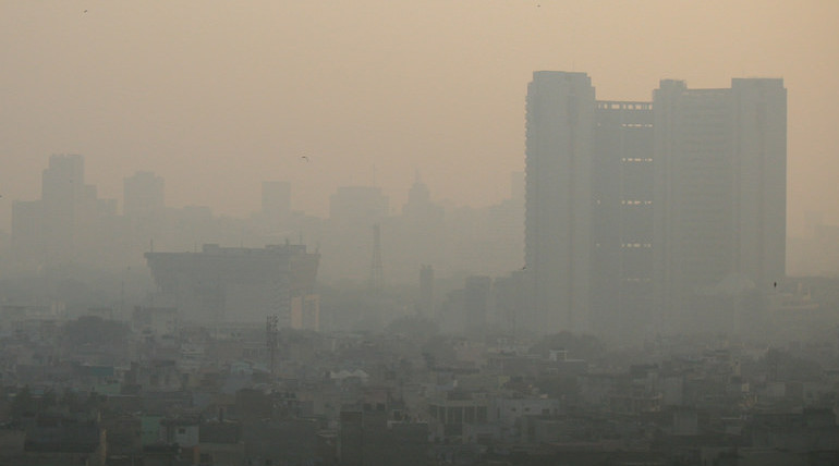 Formaldehyde In Atmosphere Surges Over India