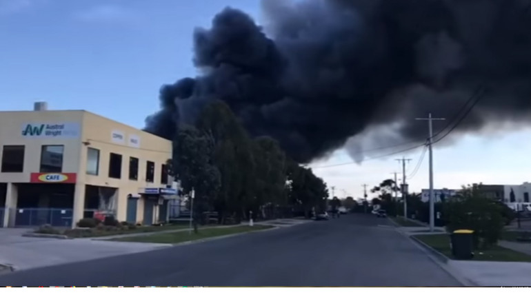 Fire At Somerton Pasta Factory In Melbourne Restricted Residents To Come Out