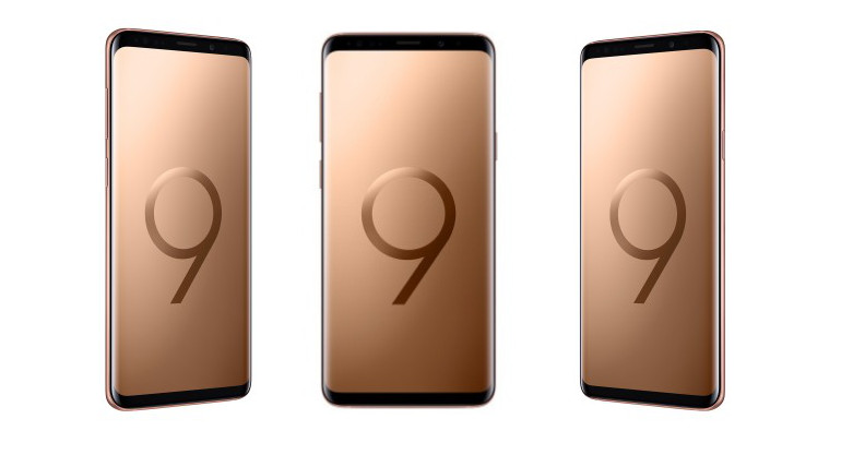 Samsung launches the Galaxy S9+ Sunrise Gold Edition in India