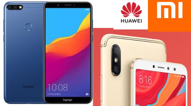 Compare Huawei Honor 7A Vs Honor 7C Vs Xiaomi Redmi Y2 Vs Redmi S2 Specs and Price