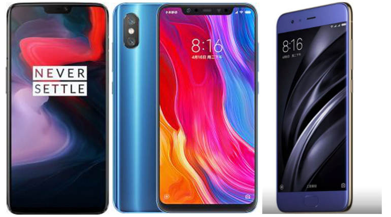 Compare Xiaomi Mi 8 Vs Mi 6 Vs Oneplus 6 Smartphone Specs And Price