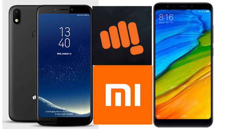 Compare Micromax Canvas 2 Plus 2018 Vs Xiaomi Redmi Note 5
