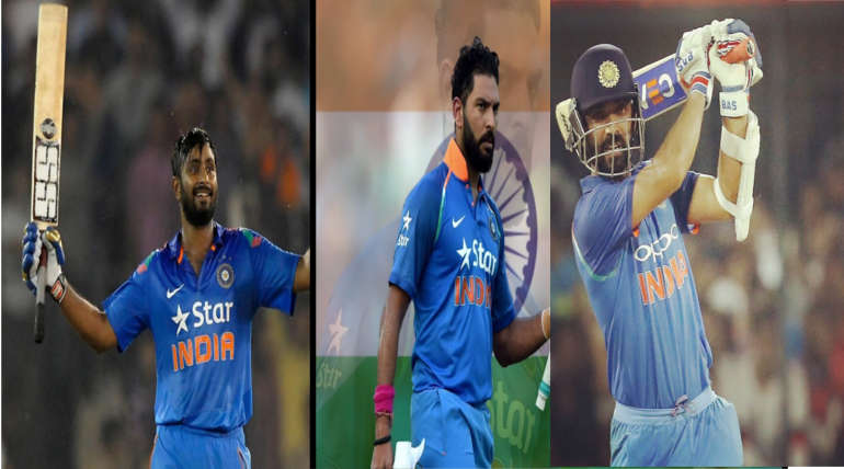 Indian Batting Order : Who Can Fit On No. 4 Spot Among These 7 Players?