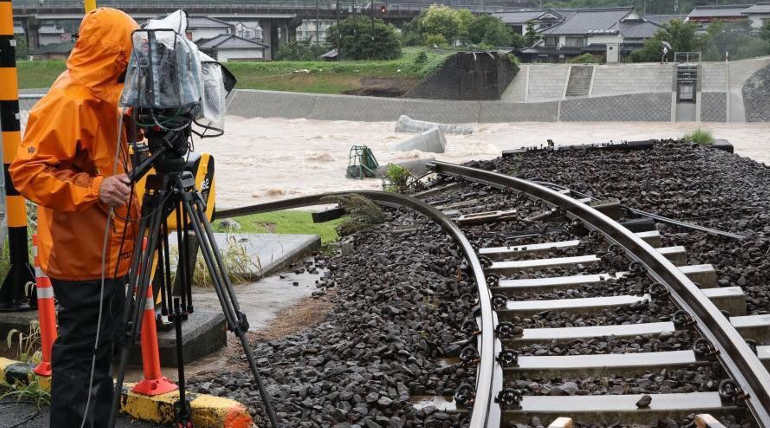 Japan Flood Rescue And Cleanup Operations In Full Swing Amidst Weather Warnings