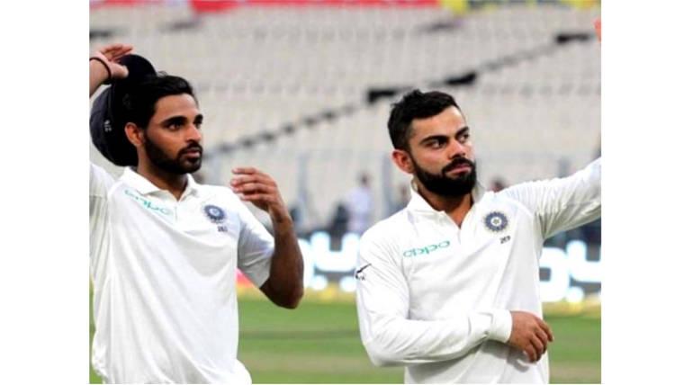 India Test Record in England: Bhuvaneshwar Kumar Ahead of Virat Kohli in batting