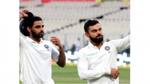 India Test Record in England: Bhuvaneshwar Kumar Ahead of Virat Kohli in batting