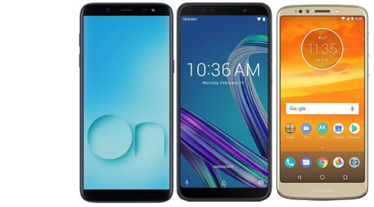 Samsung Galaxy On6 Vs Moto E5 Plus Vs Asus Zenfone Max Pro M1 Specs And Price Compared