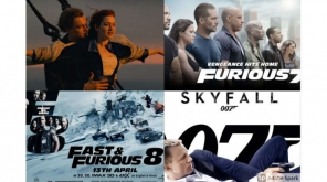 Only Films which crossed $1 billion Box office (being Non-Super-hero, Non-Fantasy/Animation films)
