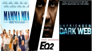 Hollywood Sequel Trio: Mamma Mia 2, Equalizer 2 And Unfriended 2 Weekend Box-office Preview