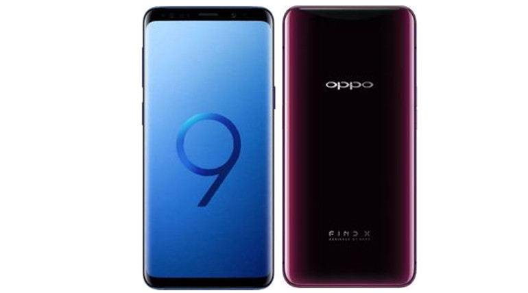 Oppo Find X Vs Samsung Galaxy S9 Specs And Prices Compared