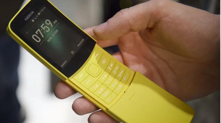 New Nokia 8810 Banana Like Feature Phone To Have WhatsApp on KaiOS Similar To JioPhone 2