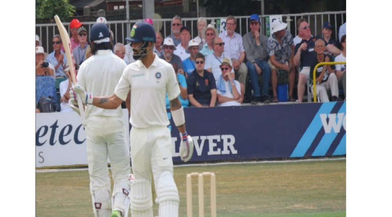 India Posts 395 Runs On Board For Warm-Up Match In England