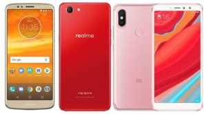 Moto E5 Plus Vs Redmi Y2 Vs RealMe1 Specs And Price Compared