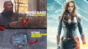 Did Nick Fury just Activate Captain Marvel in the end of Avengers: Infinity War? Read this Fan theory , Pic Credit - dc.marvel.jpg Instagram