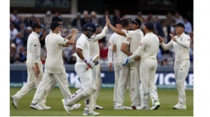 India Struggle in the crease at the end of Day 2: India vs England 2nd Test Match Pic credit - @ICC