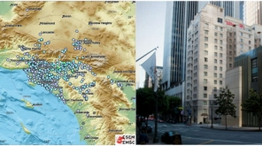 Earthquake in California: La Verne hit by 4.4 magnitude earthquake that shook Los Angeles , Pic Source - EMSC @LastQuake Twitter