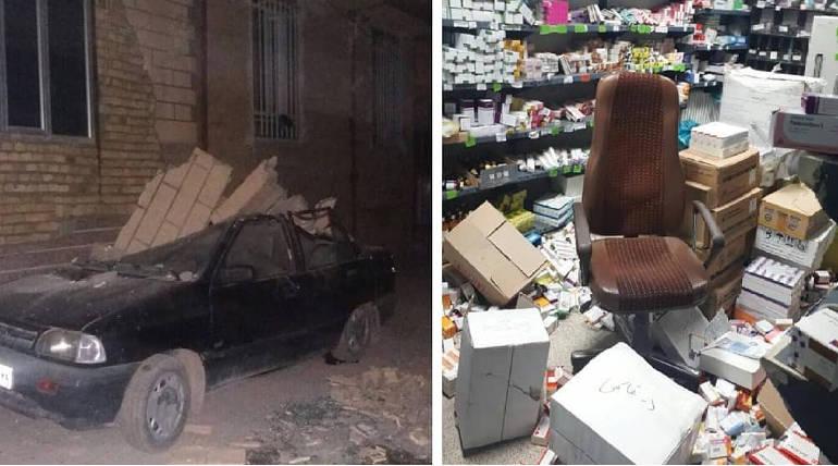 Earthquake shakes Northwest Iran: 2 Killed and 250 injured of 5.9 magnitude quake , Pic Credits - @mahsti25metana1 Twitter