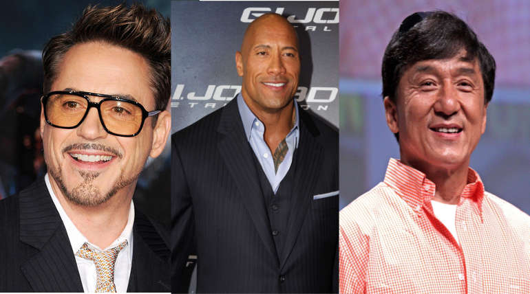 Forbes Top 10 Paid Actors in the world 2018: No.1 didn't act a single film in the year
