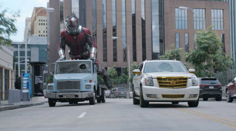 Ant-man and the Wasp takes huge opening in China; Crosses $500M globally beating Ant-man , Pic Source - IMDB