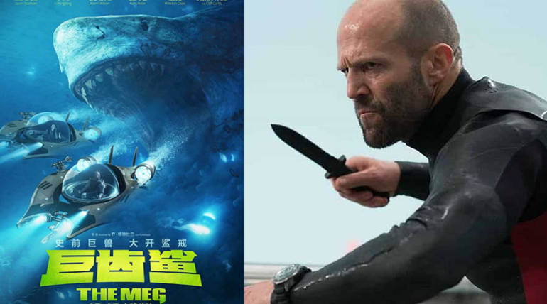 The Meg emerged as Highest Grossing film in Jason Statham's career as Solo hero , Pic Source - IMDB