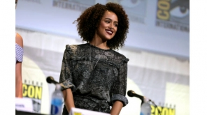 Nathalie Emmanuel at Comic Con