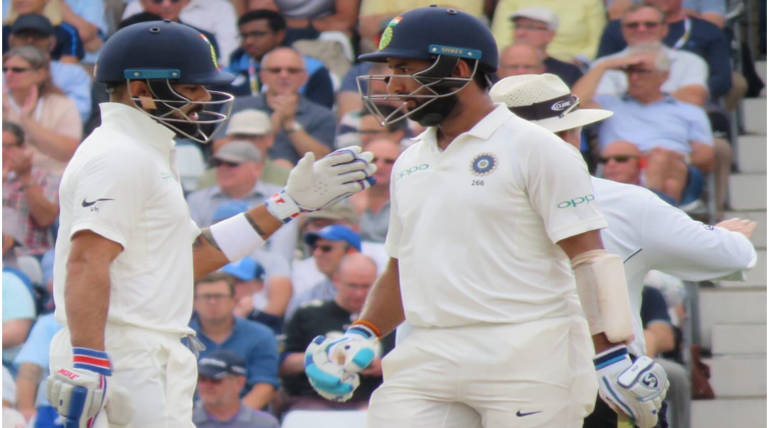 India on the verge of sealing a win in Trent Bridge: India vs England 3rd Test , Pic credit - @BCCI Twitter