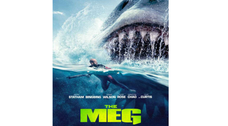 The Meg had a smashing opening weekend; Tops Domestic and China Box office, Pic credit - IMDB