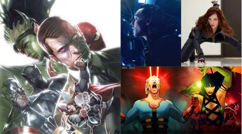 Marvel Phase 4 movies after Avengers 4 Hinted by the Comics: Check the Possible New Superheroes , Image Credit -  @ComicCrusaders , @MCU_Tweets Twitter
