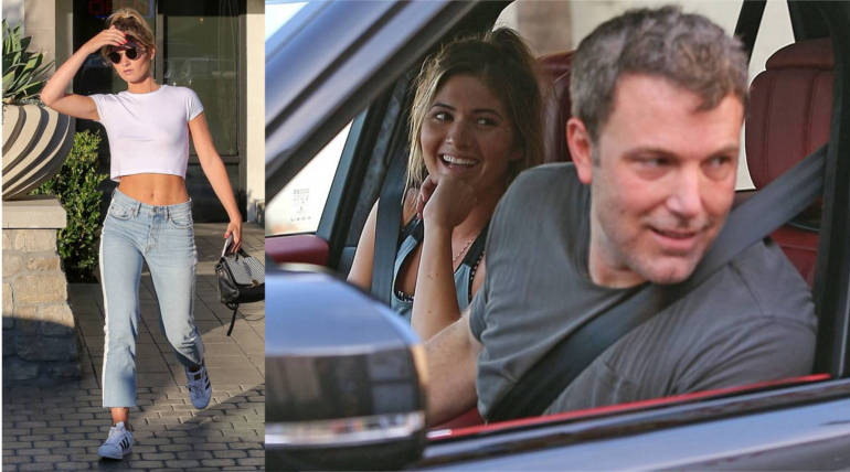 Ben Affleck got a visit from the Playboy model Shauna Sexton; Status about his Rehab Process , Pic Courtesy - X17online, T.Maidana /SplashNews.com