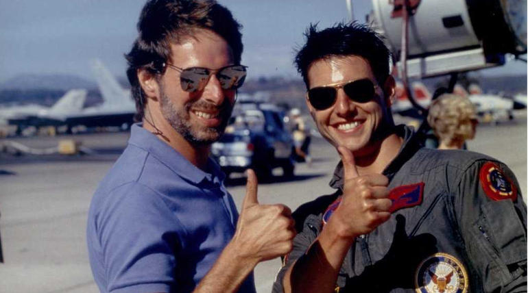 Tom Cruise Suited up for Top Gun: Maverick; Brisk Shooting under progress , Image Source - IMDB Top Gun Film
