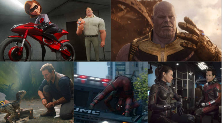 Top 5 Hollywood Summer Gross At Domestic Box Office 2018