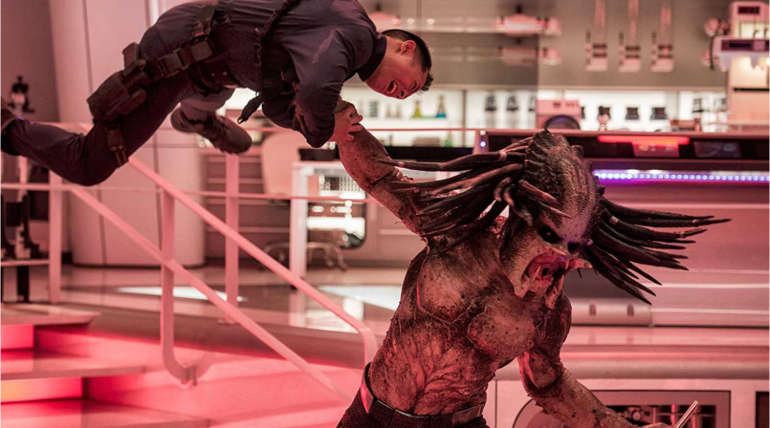 The Predator Final Trailer: Deadly Predators vs Humans with Rap music shows Kickass stuff , Pic Source- IMDB