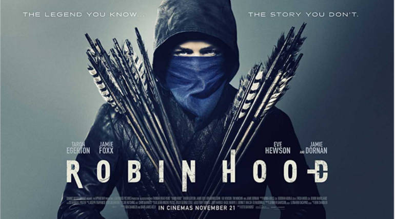"Robin Hood New Poster Looks Stunning with the Quote ""The story You Don't Know"" , Image Source - IMDB"