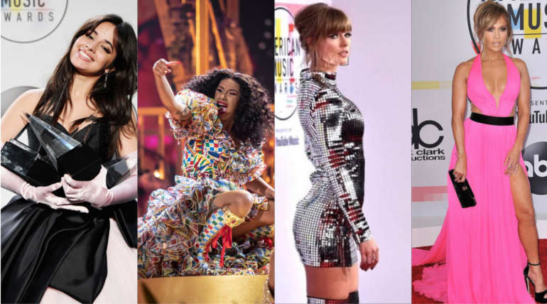American Music Awards 2018 Winners List: Camila Cabello, Taylor Swift, Cardi Stole the Show