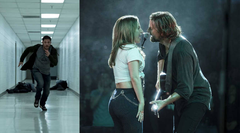 U.S. Weekend Box office: Venom, A Star is Born Exceeds Opening Projections