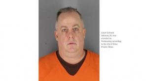 Lloyd Edward Johnson arrested at MCDonald. Image - KSTP TV