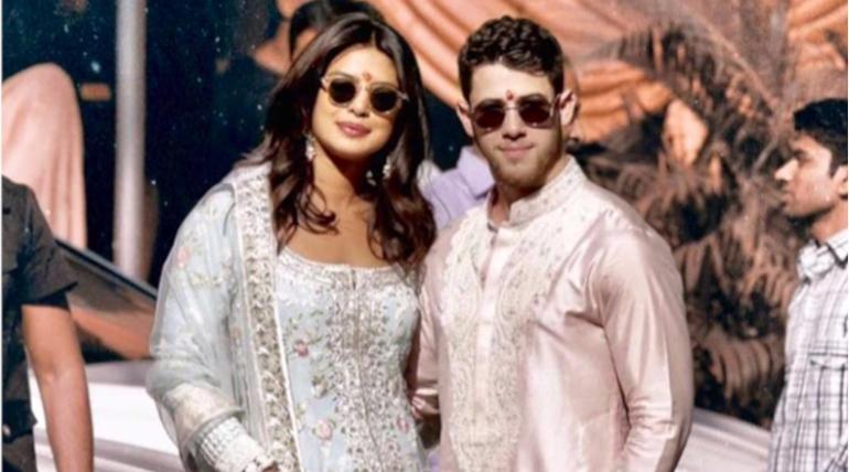 Priyanka Chopra and Nick Jonas Begin Their Pre-Wedding Ceremonies, Image Courtesy - @PrickFanClub