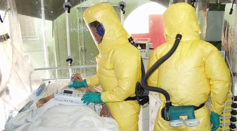 Combating Ebola. Image Credit Max Pixel